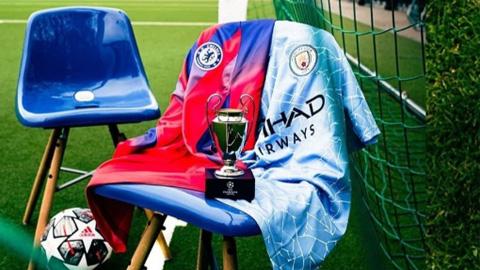 Nhà tài trợ để lộ trang phục Chelsea gặp Man City ở chung kết Champions League