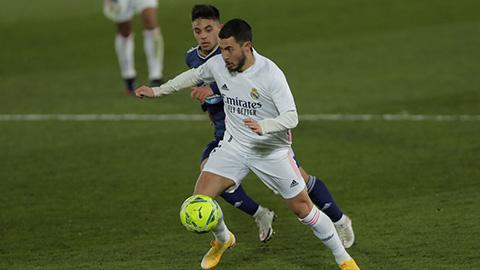 Hazard không kịp ra sân ở trận đấu hạ màn La Liga