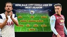 Đội hình Man City khủng cỡ nào nếu chiêu mộ được Harry Kane và Jack Grealish
