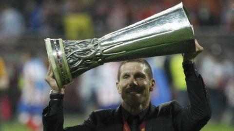 Diego Simeone sớm trở thành HLV giàu thành tích nhất lịch sử Atletico