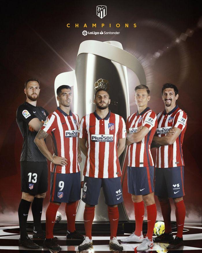 Suarez đã đóng góp 21 bàn thắng trong 32 trận vào chức vô địch La Liga 2020/21 của Atletico