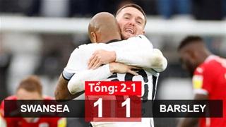 Swansea tiến thêm 1 bước tới Premier League
