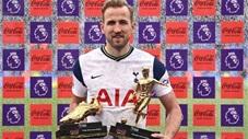 Harry Kane lần thứ 3 giành Chiếc giày Vàng Premier League