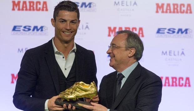 Ronaldo có 3 danh hiệu Pichichi ở La Liga