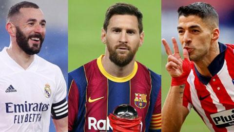 Đội hình xuất sắc nhất La Liga 2020/21: Bộ khung của Atletico
