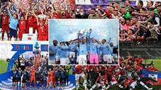Những khoảnh khắc cảm xúc nhất của các nhà vô địch tại 5 giải hàng đầu châu Âu