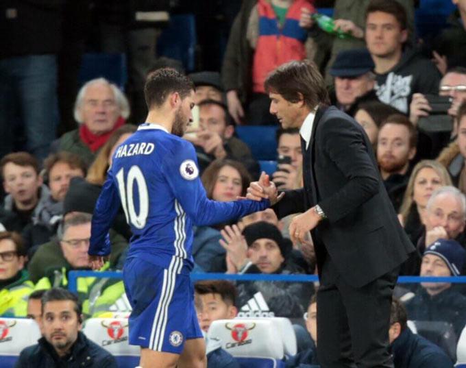 Conte rất hiểu Hazard và có thể hồi sinh anh tại Inter