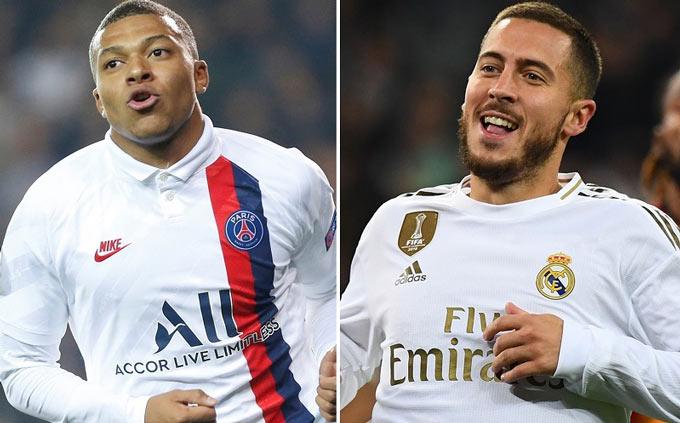 Mbappe và Hazard có thể đổi chỗ cho nhau