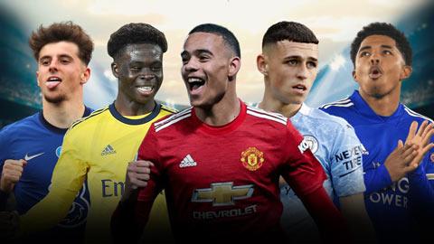 Foden, Greenwood & những tài năng trẻ xuất sắc nhất Premier League 2020/21