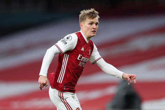 Odegaard đã chứng minh được năng lực ở Arsenal