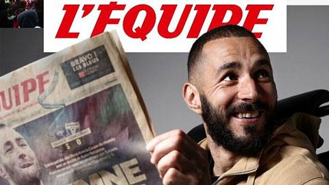 Karim Benzema: 'Tôi luôn xem mình như một tuyển thủ áo Lam'