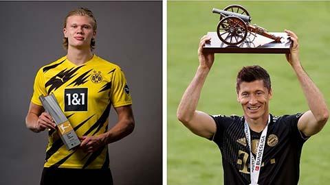 Haaland giành giải Cầu thủ xuất sắc nhất Bundesliga 2020/21