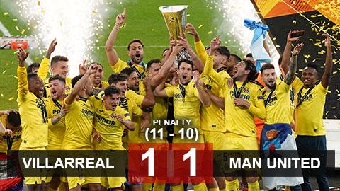 Chấm điểm MU 1-1 Villarreal (pen 10-11): Cavani, điểm sáng trong bức tranh tối
