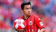 Chanathip chấn thương, khó tham dự vòng loại World Cup 2022 với Thái Lan