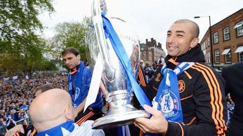 """Trong vai trò """"chữa cháy"""", Di Matteo đã giúp Chelsea vô địch Champions League 2011/12"""