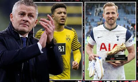 Sancho và Kane là hai mục tiêu mà Solskjaer muốn đưa về Man United