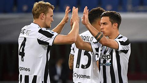 De Ligt và Dybala là hai cầu thủ từng dương tính với Covid-19