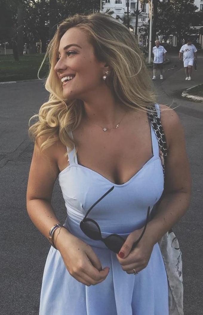 Izabel Kovacic (vợ của Mateo Kovacic)