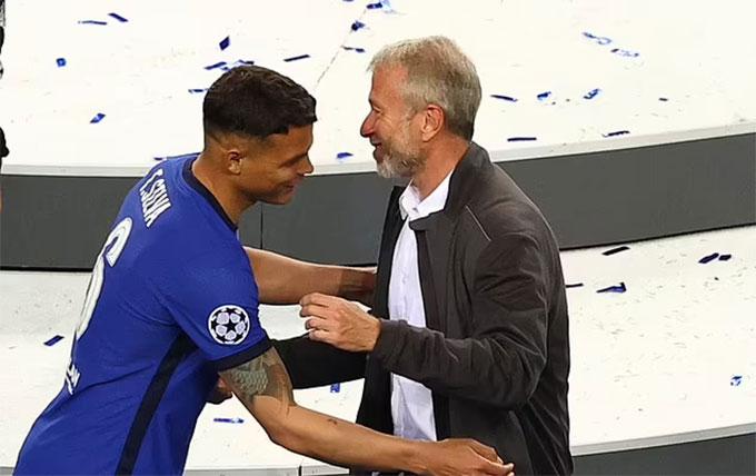 Thiago Silva vô địch Champions League ngay ở mùa đầu khoác áo Chelsea