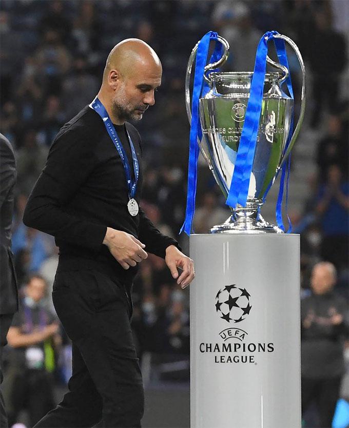 HLV Guardiola không có thói quen thua ở chung kết