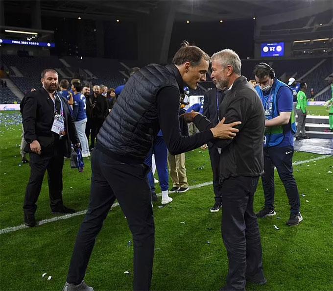 HLV Tuchel lần đầu gặp gỡ Abramovich kể từ khi tiếp quản Chelsea