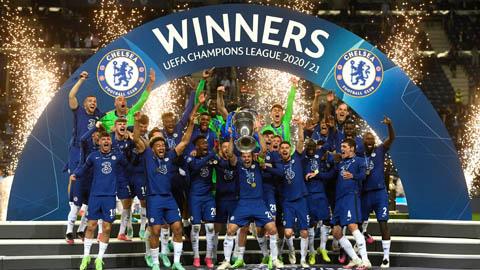 """Chùm ảnh: Chelsea lên ngôi vô địch Champions League<span class=""""photo""""></span>"""