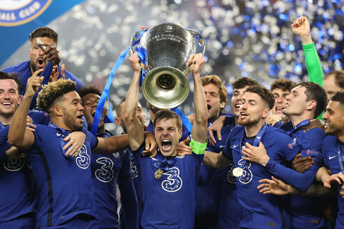 Chelsea giành chức vô địch Champions League 2020/21 sau 90 phút nghẹt thở trước Man City. Bàn thắng duy nhất của Havertz đã giúp Chelsea lần thứ 2 vô địch Champions League trong lịch sử
