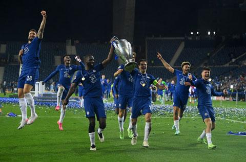 Chelsea lên ngôi vô địch với chỉ trung bình 0,31 bàn thua/trận tại Champions League mùa này