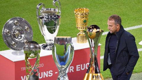 HLV Hansi Flick đã giành rất nhiều danh hiệu ở mùa 2019/20