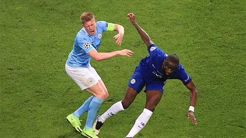 Ruediger đáng bị đuổi vì khiến De Bruyne chấn thương ở trận Man City vs Chelsea?