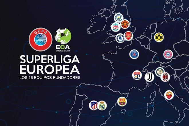 Liên minh Real - Juventus vội vàng tung ra quả bom ESL nhanh chóng thất bại bẽ bàng vì sự trở cờ của 6 CLB Premier League