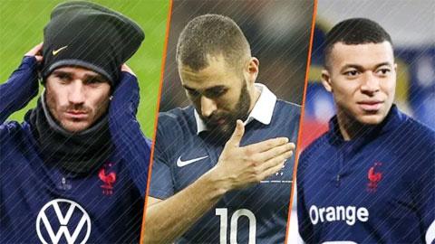2h05 ngày 3/6, giao hữu Pháp vs xứ Wales: Chờ bộ ba Mbappe - Benzema - Griezmann ra mắt