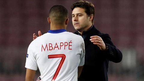 Real đang rất muốn có cả thầy Pochettino lẫn trò Mbappe của PSG ngay lúc này