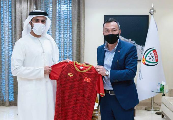 LĐBĐ UAE và VFF có mối quan hệ tốt đẹp
