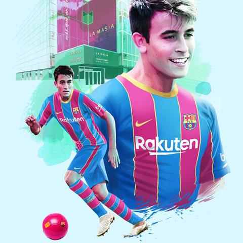 Eric Garcia trở lại mái nhà xưa Barca
