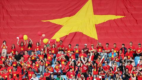 CĐV được vào sân xem Việt Nam đá vòng loại World Cup 2022