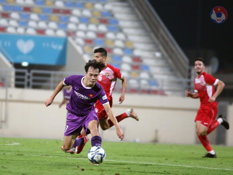 Việt Nam có trận đấu khó khăn trước Jordan - Ảnh: VFF