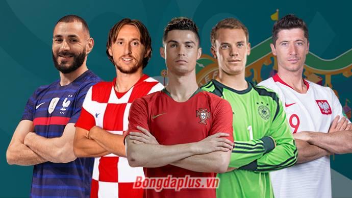 Ronaldo, Benzema & những 'ông lão' hứa hẹn sẽ tung hoành tại EURO 2020