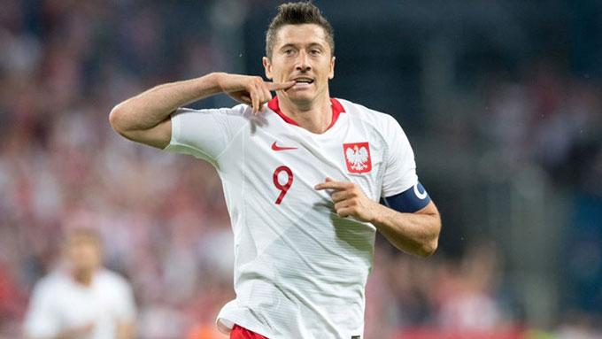 Lewandowski sẵn sàng đua Vua phá lưới EURO 2020
