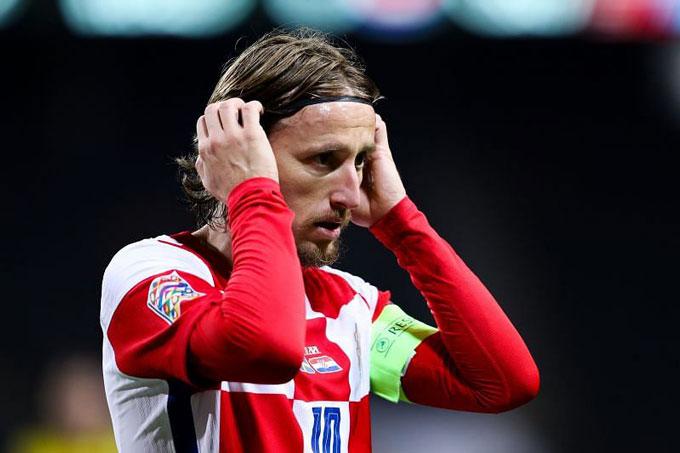 Modric là thủ quân của ĐT Croatia