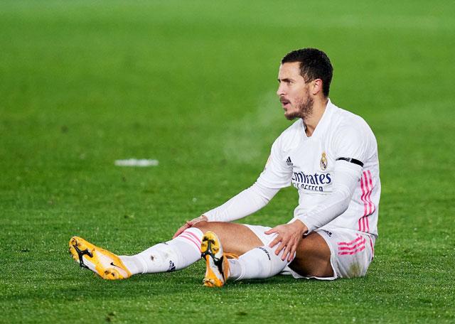 Hazard vừa có một mùa giải đáng quên tại Real Madrid