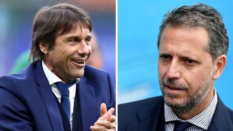 Tottenham sắp chiêu mộ cả Conte lẫn cựu GĐTT của Juventus