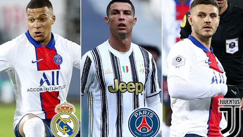 Mbappe sẽ là 'món quà' cho Ancelotti, kích hoạt tương lai của Ronaldo và Icardi
