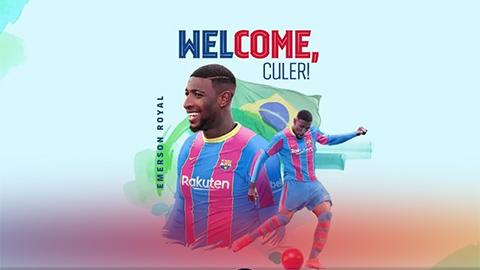 Barcelona ký hợp đồng với Emerson