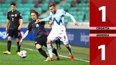 Croatia vs Armenia: 1-1 (Giao hữu quốc tế 2021)