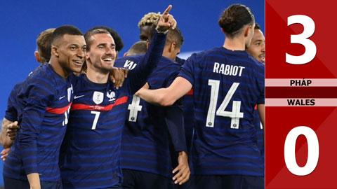 Pháp vs Wales: 3-0 (Giao hữu quốc tế 2021)