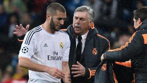 Trở lại Real, Ancelotti yêu cầu Benzema ghi... 50 bàn/mùa