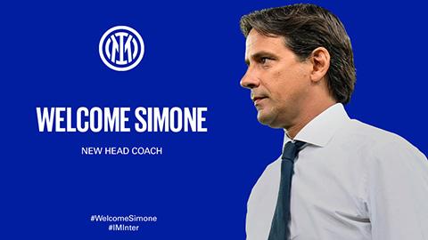 Simone Inzaghi chính thức là HLV trưởng Inter Milan