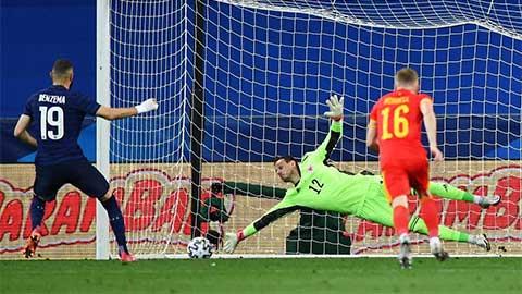Karim Benzema mất điểm trong lần đầu trở lại khoác áo ĐT Pháp