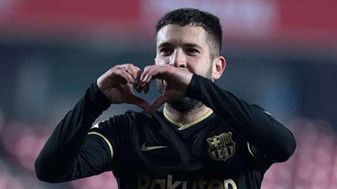Alba muốn được cống hiến trọn đời cho Barca